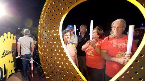 Directo Diada 2018   Torra felicita a los catalanes con unas esposas y pide libertad