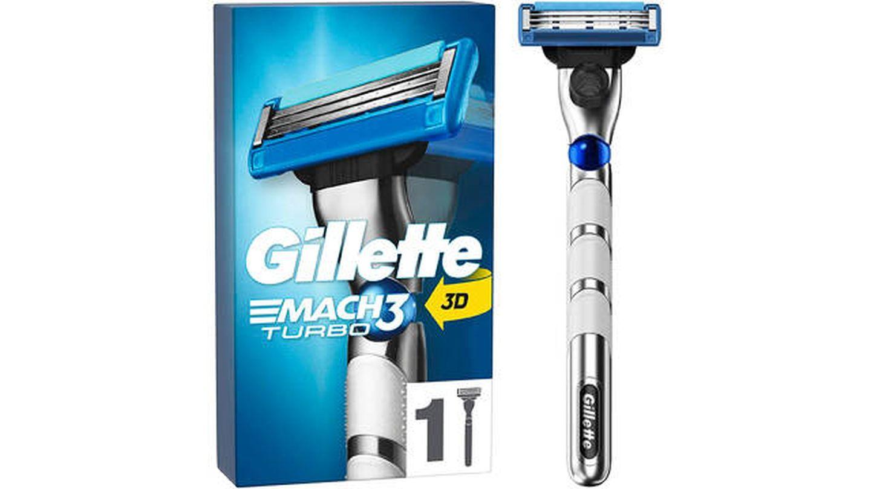 Cuchilla de afeitar Gillette Mach 3 Turbo