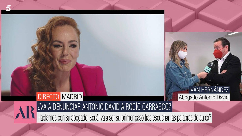 'El programa de AR' conecta con el abogado de Antonio David Flores. (Mediaset)