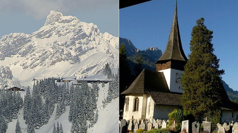 The Eagle Ski Club y la Iglesia de San Nicolás