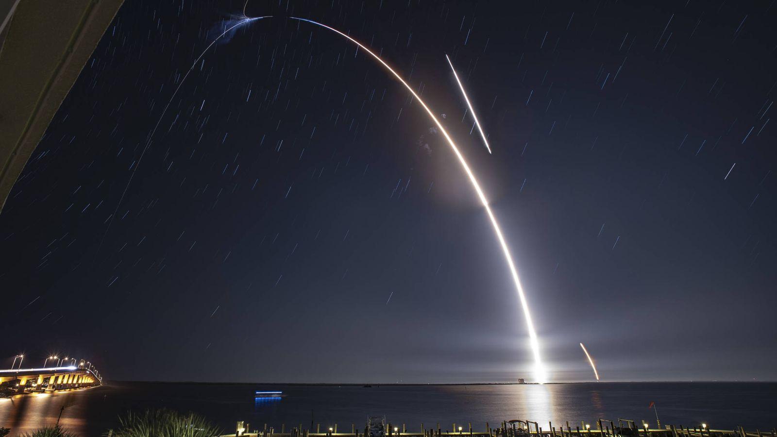 Foto:  Misión de Space X. (Flickr)