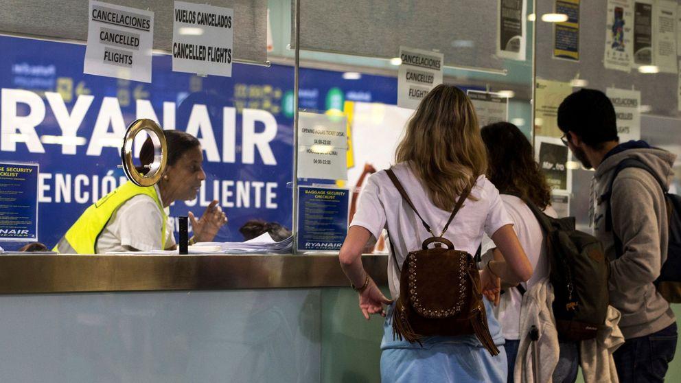 Fomento investiga si Ryanair incumplió los derechos de los pasajeros durante la huelga