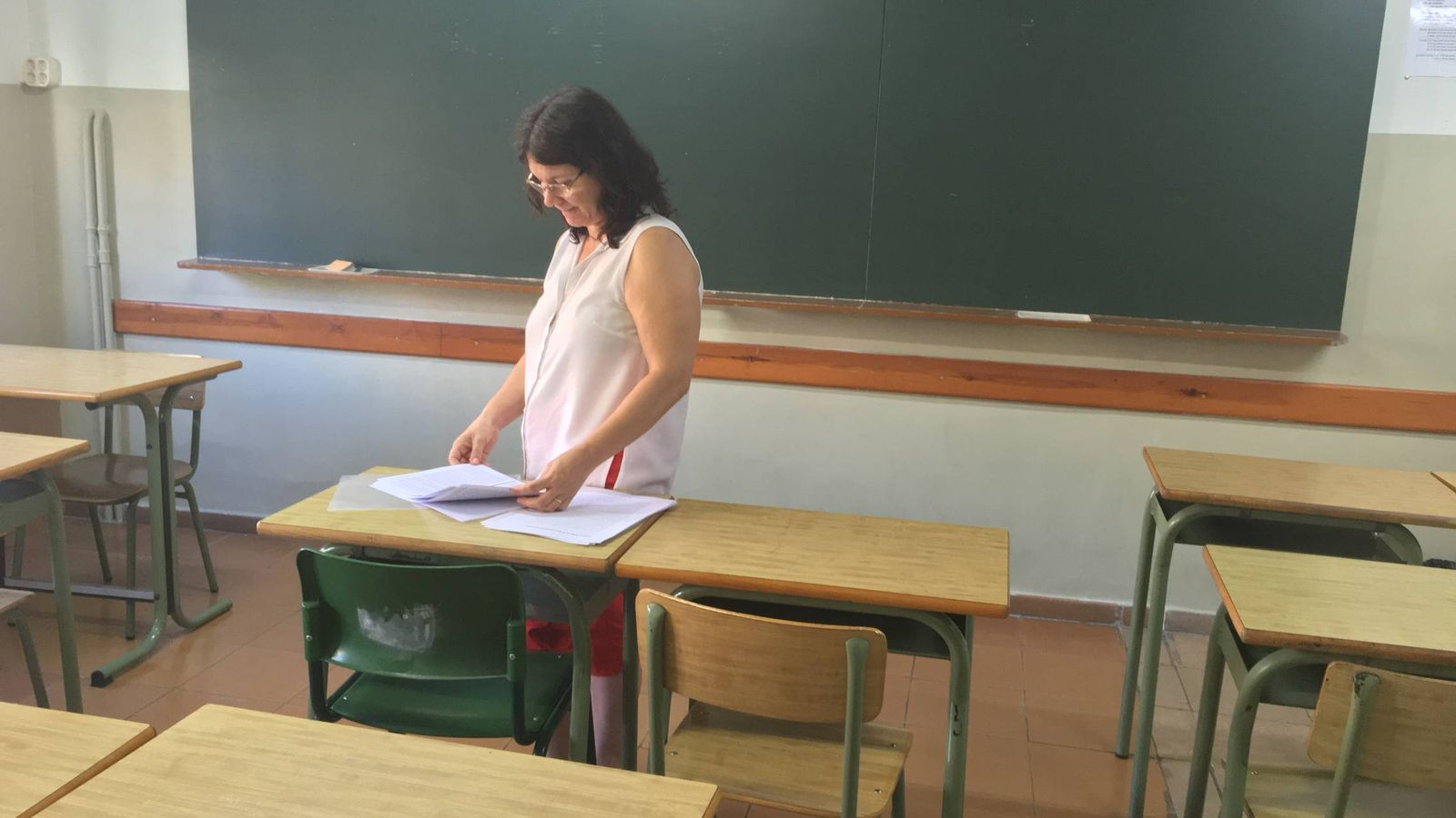 Foto: Gloria Eguaras, otro modelo de misionera. (Andreas Palaudarias)
