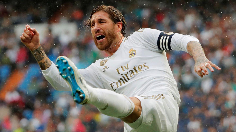 Sergio Ramos, durante el partido del Real Madrid ante el Levante. (Reuters)
