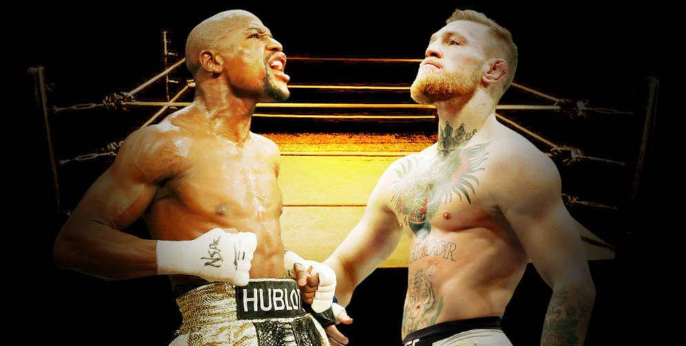 Foto: Mayweather y McGregor combatirán en Las Vegas. (Montaje: E.V)