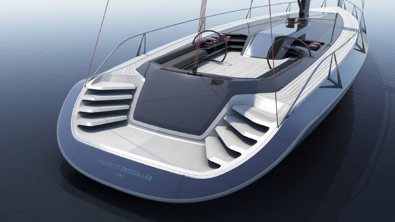 Foto: Vista general del nuevo 'Yacht Concept' de Peugeot.