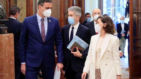 Calvo, Celaá y Marlaska, tranquilos por su continuidad: Es competencia de Sánchez