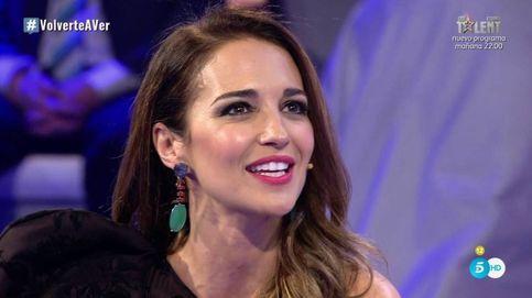Paula Echevarría, emocionada en su regreso a Telecinco en 'Volverte a ver'