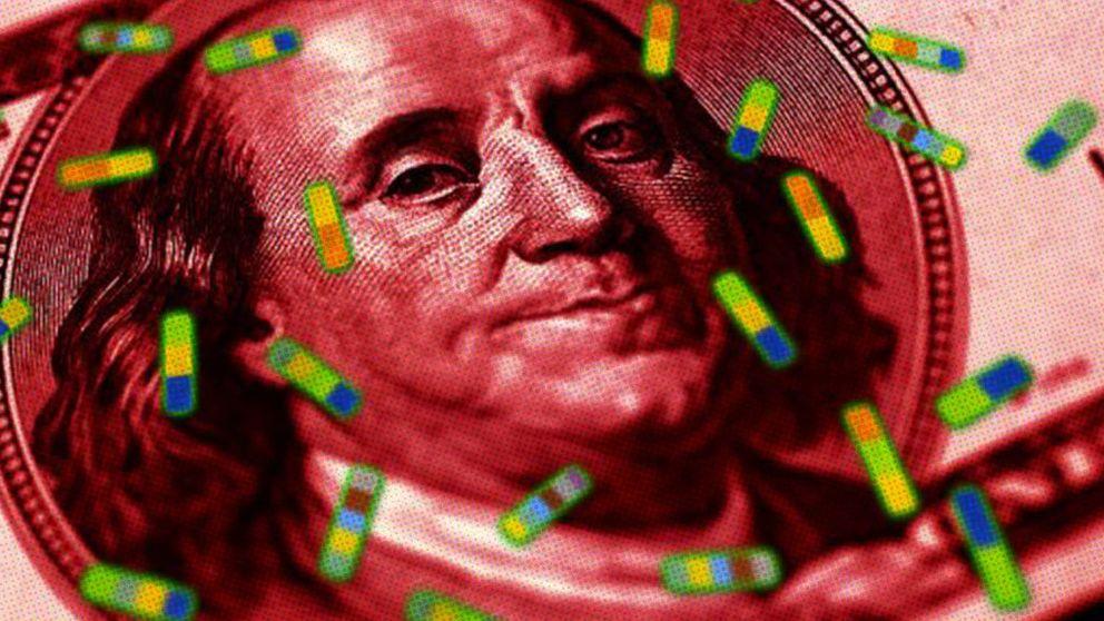 Nanocristales que utilizan tu móvil para detectar billetes falsos