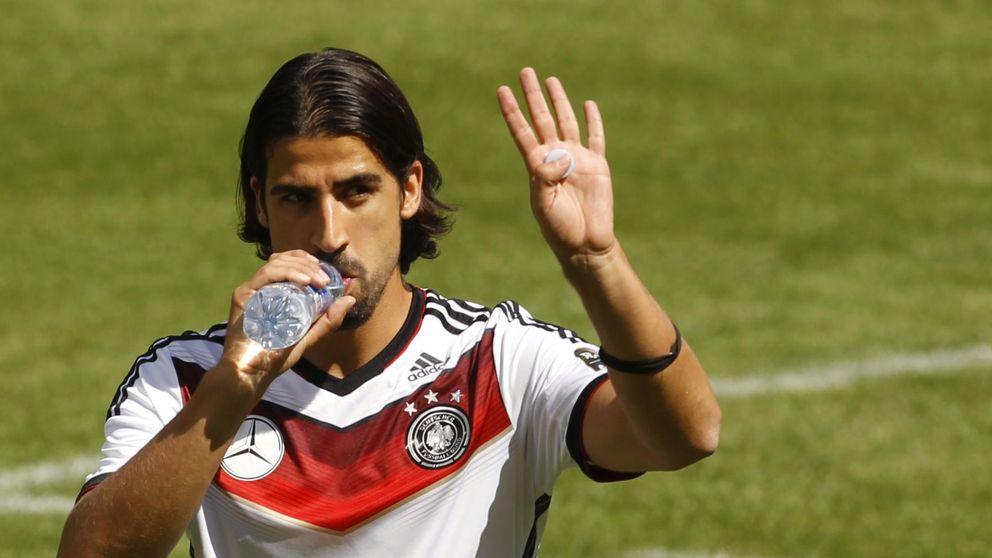 El Real Madrid duda de Khedira y escucha ofertas por el alemán