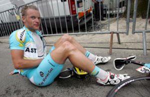 El ciclista alemán Matthias Kessler se debate entre la vida y muerte en Palma