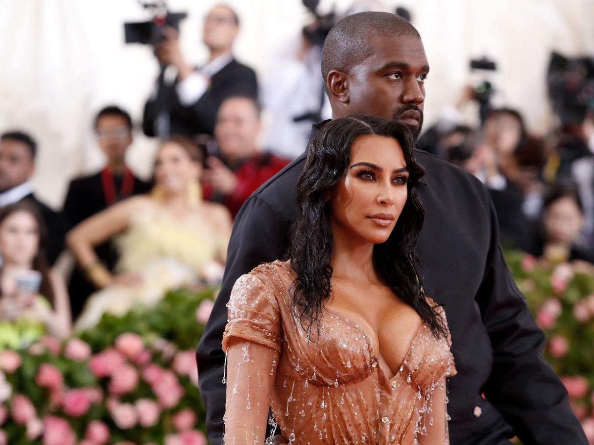 Foto: Kim Kardashian y Kanye West intentan salvar su matrimonio en el caribe. (Reuters)