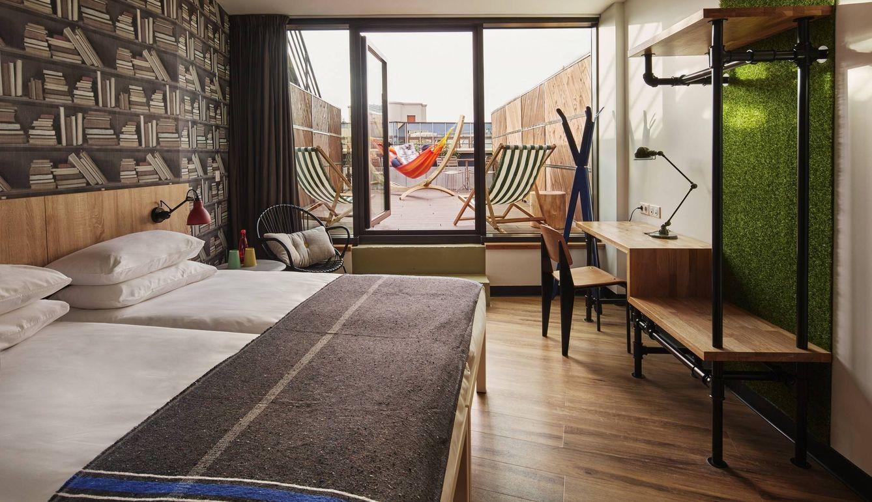 Llegan los poshtels: alojamientos baratos con decoración propia de hoteles de lujo