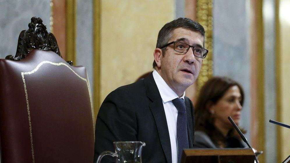 Foto: El presidente del Congreso de los Diputados, Patxi López. (Efe)