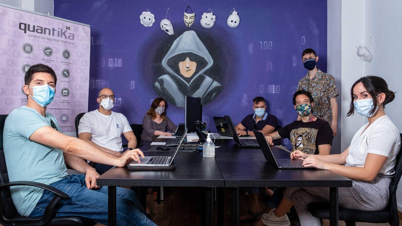 El equipo de Quantika14. (Imagen cedida)