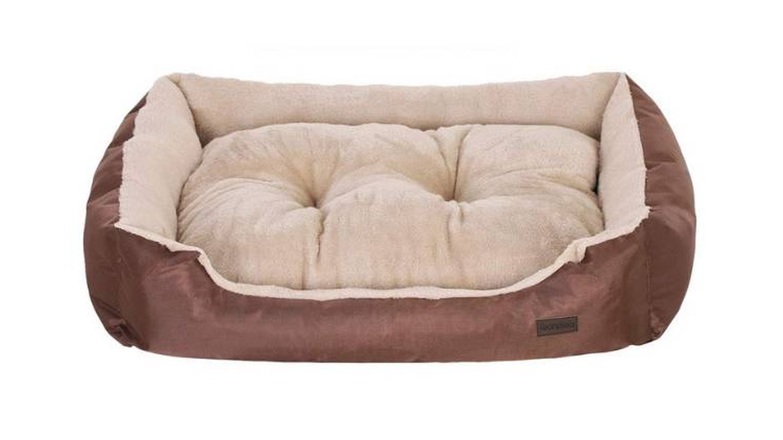 Sofá para perros con cojín extraíble y reversible de Feandrea