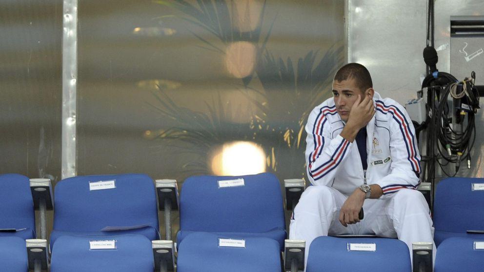 Benzema habría admitido ser el mediador en el chantaje a Valbuena