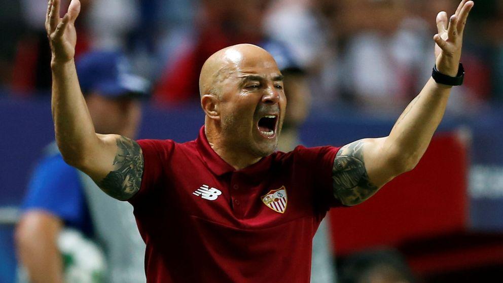 La fiebre por Sampaoli se extiende por Sevilla, pero él sueña con Leo Messi
