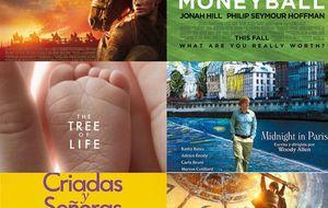 Los nominados a los Oscar 2012