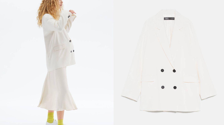 Blazer de Zara, colección 'Mum' (49,95€).
