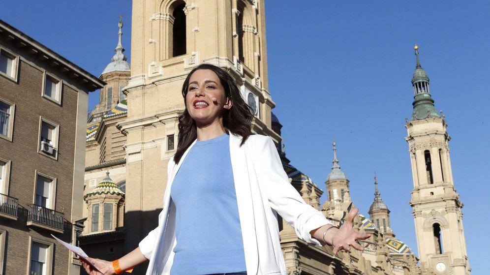 Foto: La portavoz nacional de Ciudadanos, Inés Arrimadas (Efe)