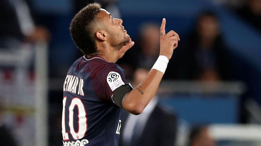 Foto: Neymar, en un partido de liga con el Paris Saint Germain. (Reuters)