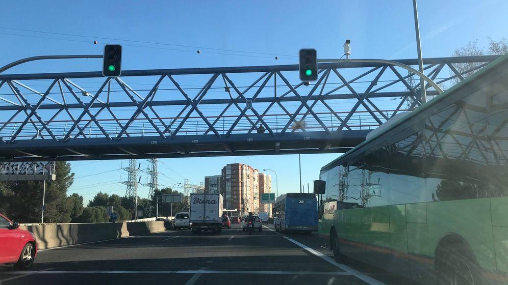 Foto: El nuevo Paseo de Extremadura este miércoles. A la derecha, el carril-bus exclusivo. (EC)