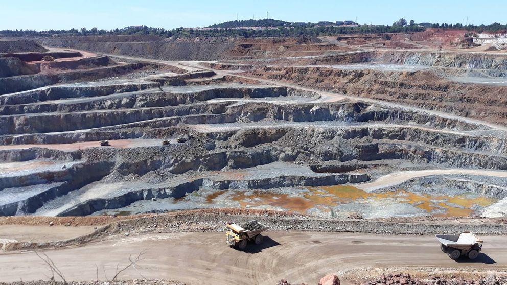 Fondos españoles ya controlan el 15% de la mina de cobre de Riotinto