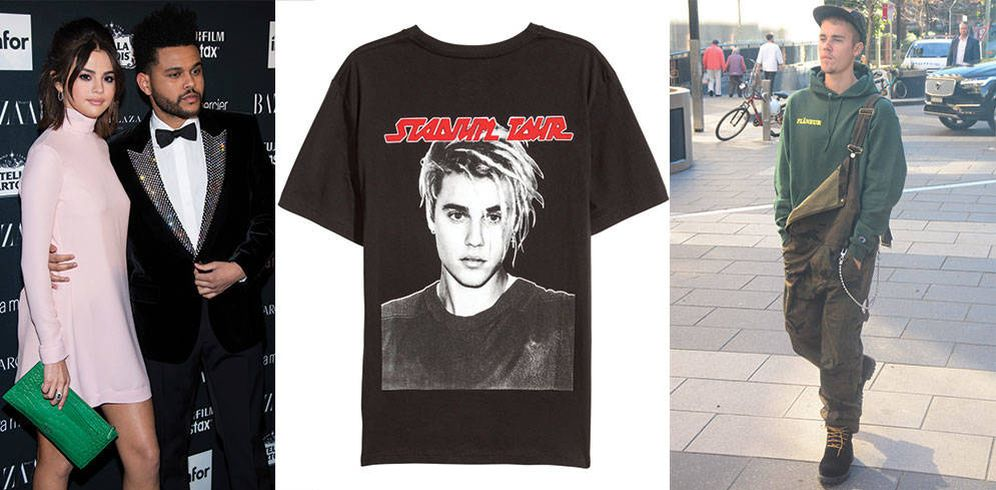 Foto: ¿Bieber o The Weeknd? Selena se queda con el segundo, que la cadena sueca no renuncia a ninguno.