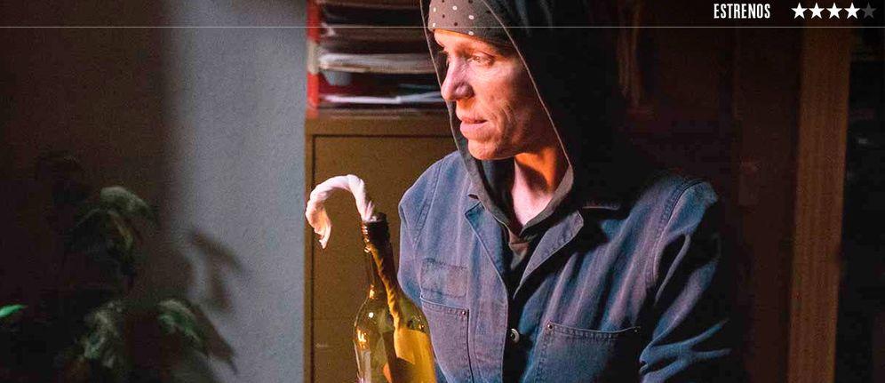 Foto: Frances McDormand, en 'Tres anuncios en las afueras'. (Fox)