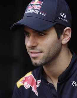 Foto: Alguersuari cuando lucía en Toro Rosso.