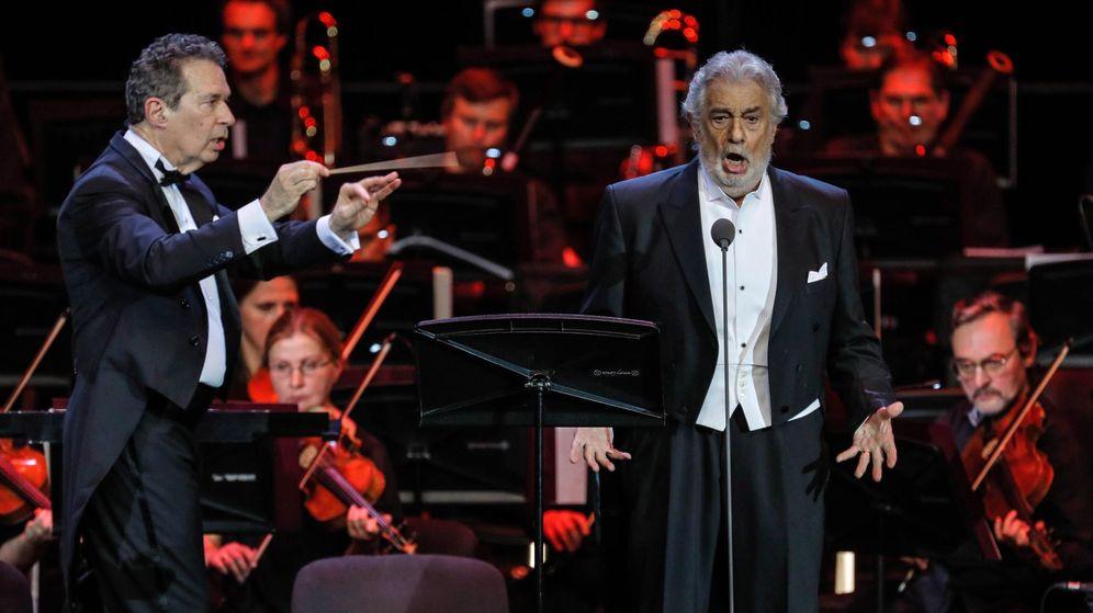 Foto: Plácido Domingo, en una actuación en Moscú. (EFE)