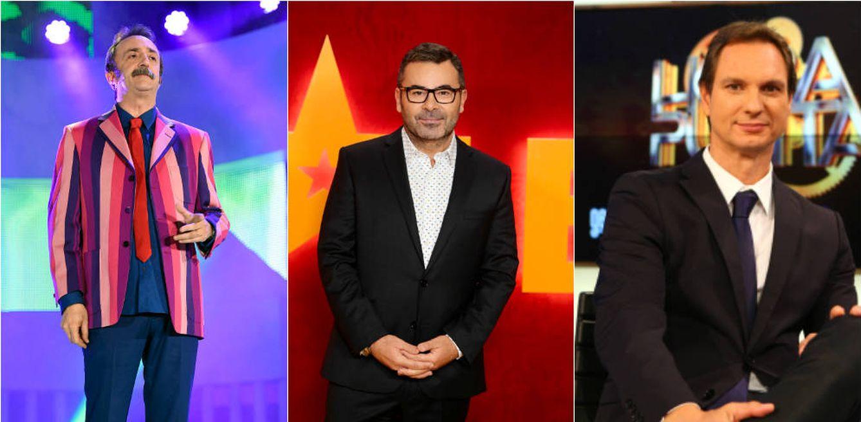 Foto: Santi Rodríguez, Jorge Javier y Javier Cárdenas