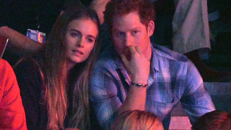 Harry junto a Cressida en una imagen de archivo. (Gtres)