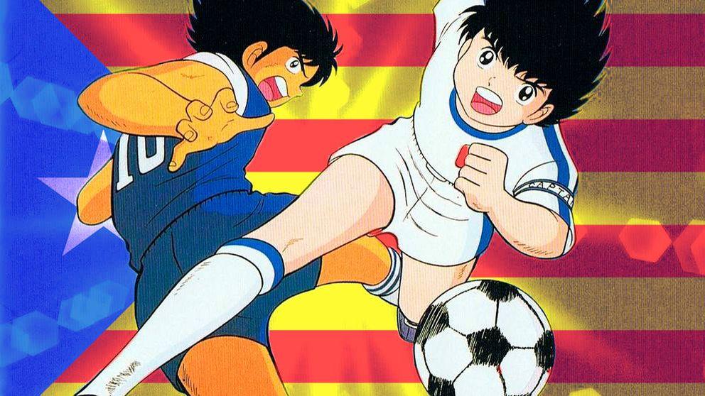 El viral de 'Oliver y Benji' que predijo la DUI de Cataluña en 2002: ¡Fueron los japoneses!