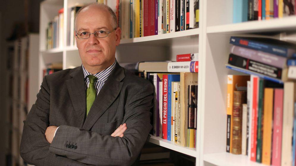 Foto: Jordi Canal, autor de 'La monarquía en el siglo XXI'. (Editorial Turner)