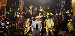Post de Eduardo Arroyo, el pintor literario