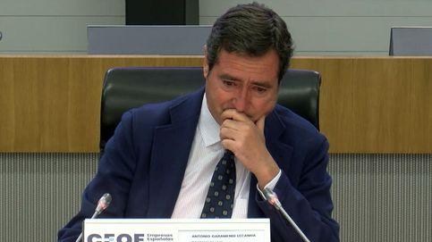 Lágrimas de Garamendi por la polémica de los indultos en la asamblea de la CEOE