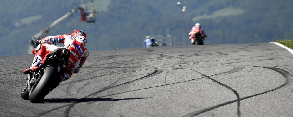 Foto: Andrea Dovizioso se hizo con la 'pole' en Assen (EFE)