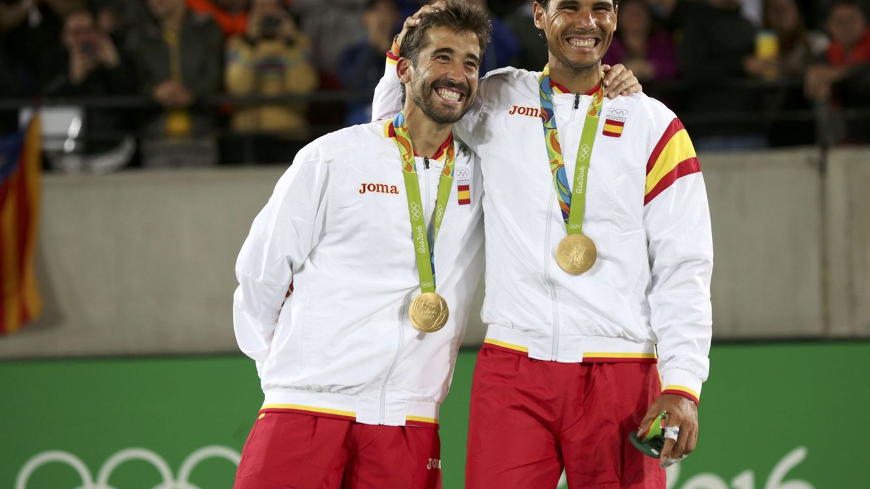 Foto: Marc López y Rafa Nadal (Reuters)