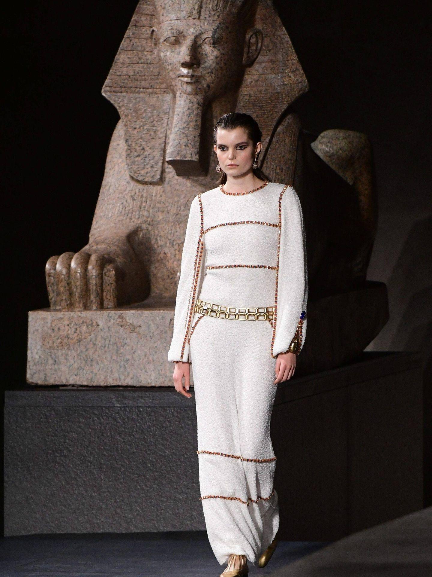 Chanel en versión egipcia. (Cordon Press)