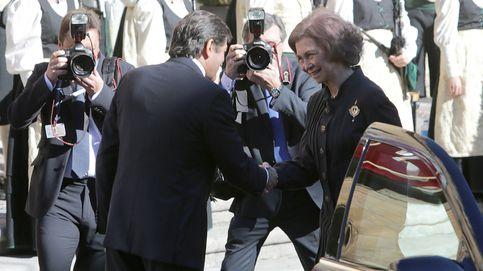 La Reina Sofía llega a Oviedo para asistir a entrega de los Premios Princesa