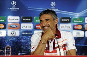 El Sevilla busca un hueco entre los 'Champions'