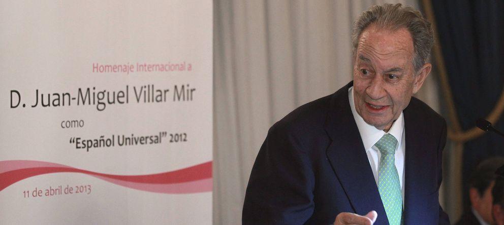 Foto: Juan Miguel Villar Mir, presidente de OHL (EFE)