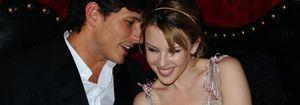 Foto: Kylie Minogue recibe el 2013 junto a Andrés Velencoso en Australia
