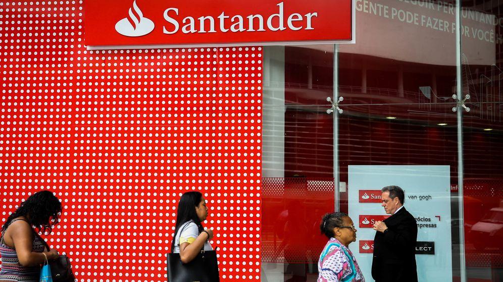 Foto: Sucursal del Banco Santander. (EFE)