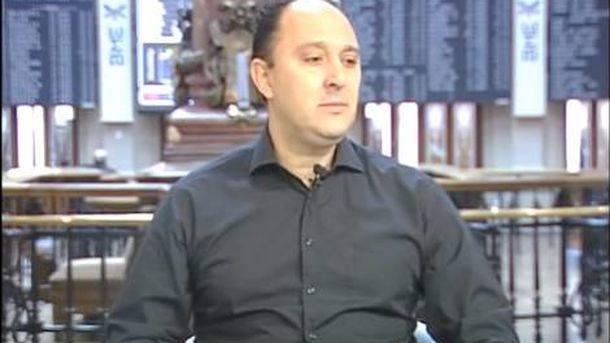 Foto: Aitor Zárate, en una entrevista.