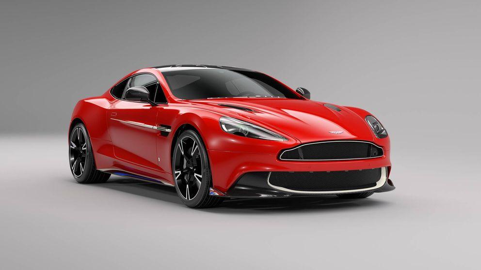 Vanquish S Red Arrows, una joya de Aston Martin en serie limitada