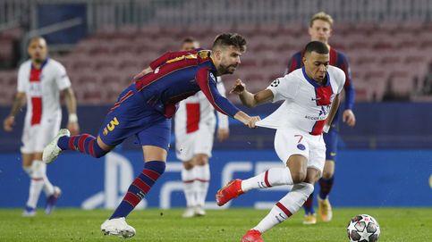 Kylian Mbappé destruye al Barça con un 'hat-trick' histórico y un Leo Messi ausente (1-4)