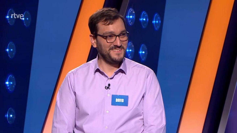 David Díaz, concursante de 'Saber y ganar'. (TVE)